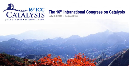 16th International Congress on Catalysis (ICC 2016)